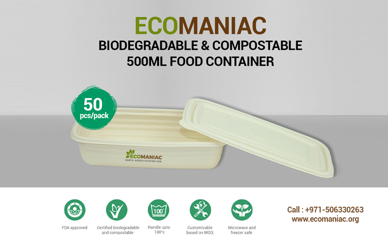 Compostable-food-container